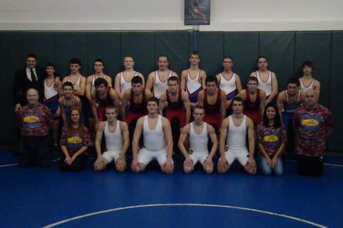 2013-2014 Campbell-Savona-Bradford Wrestling Team