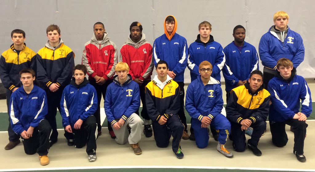 2015 Section V Class A Wrestling Champions