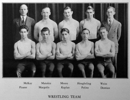 1927-1928 East Orientals Wrestling Team