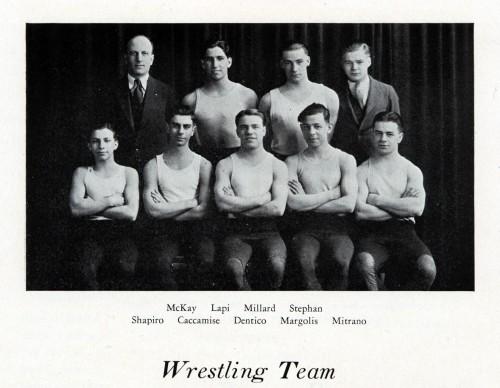 1928-1929 East Orientals Wrestling