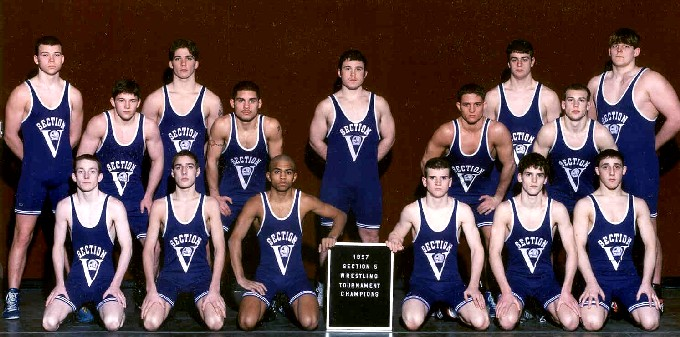 1997 NYSPHSAA Section Five Wrestling Champions