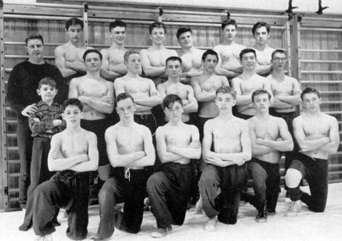 1956-1957 Orchard Park Quakers Wrestling