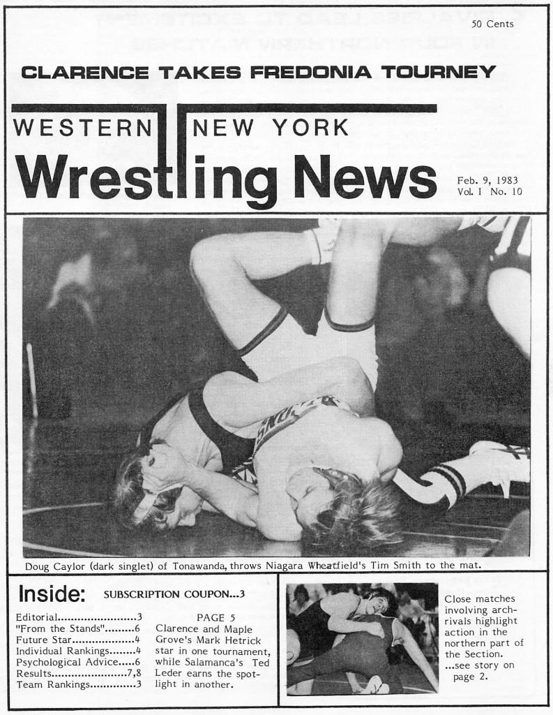 Western New York Wrestling News