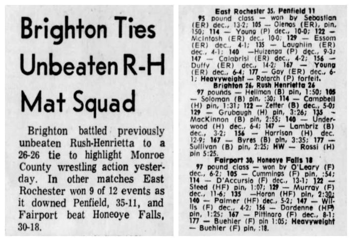 Brighton Ties Unbeated R-H Mat Squad