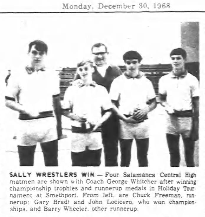 Sally Wrestlers Win