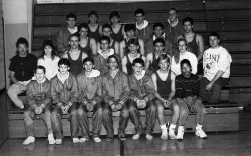 1990-1991 Attica Blue Devils Wrestling