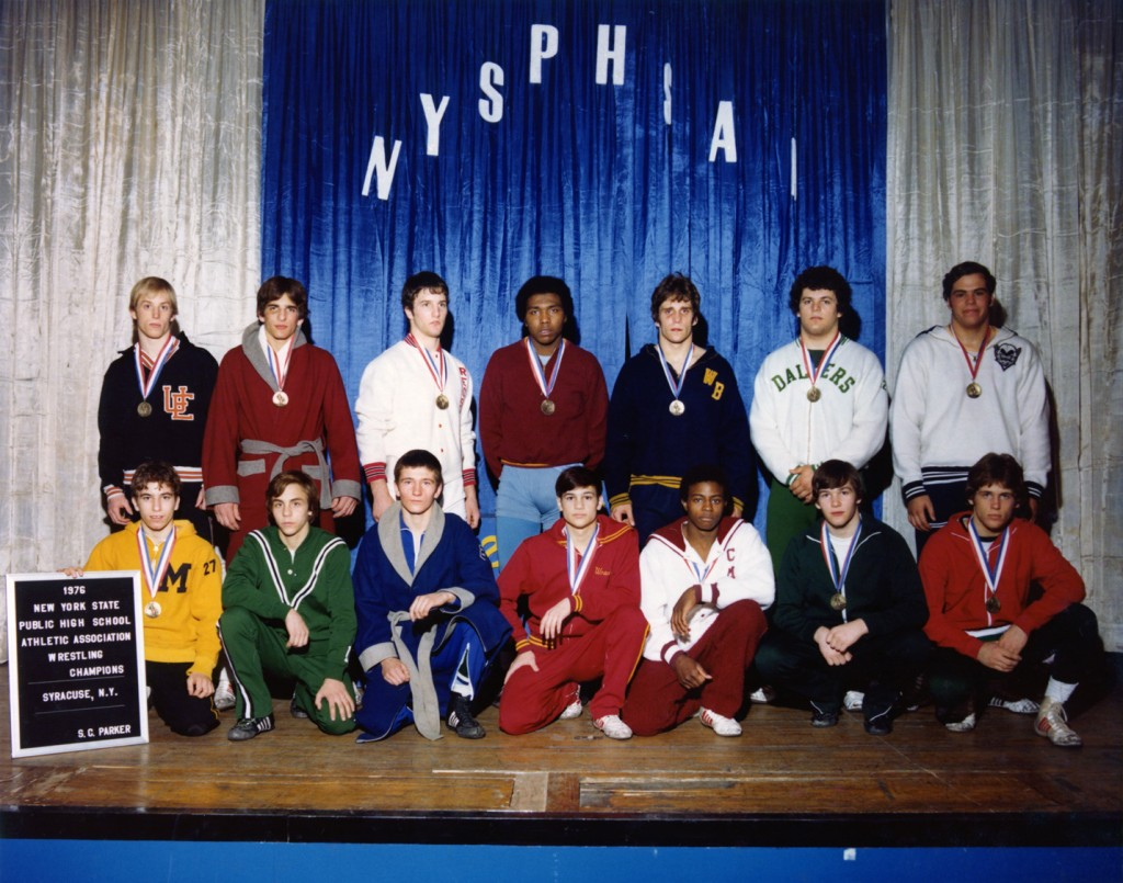 1976 NYSPHSAA Intersectional Wrestling Champions