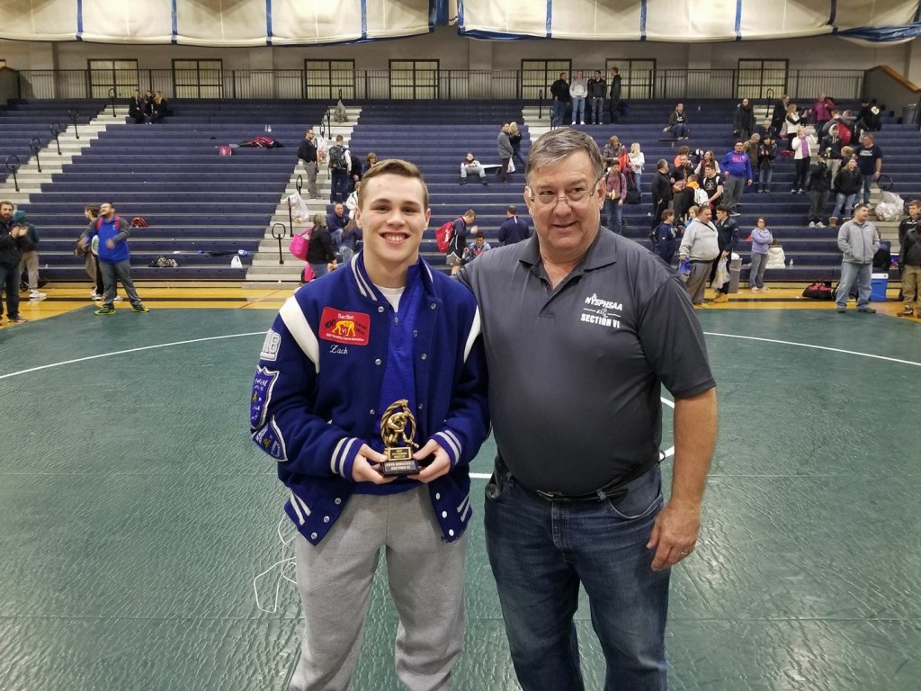 Outstanding Wrestler Zach Brown