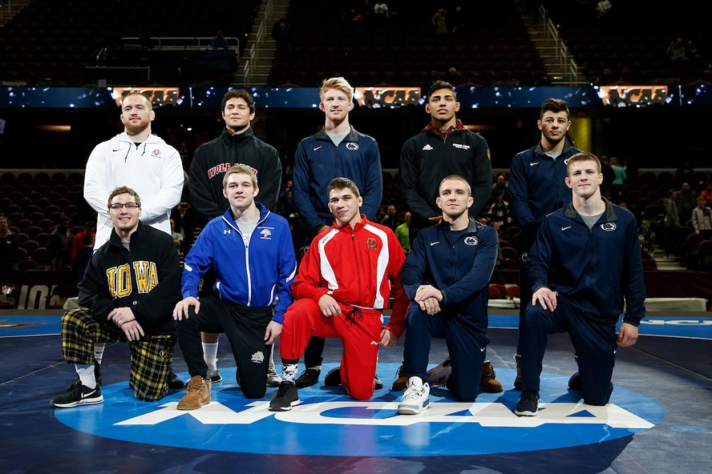 2018 NCAA Division I Wrestling Champions