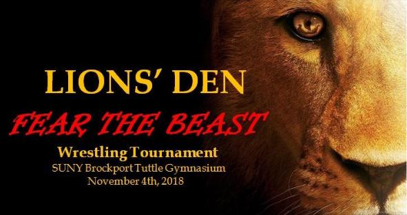 Lions Den Pre-Season Wrestling Tournament