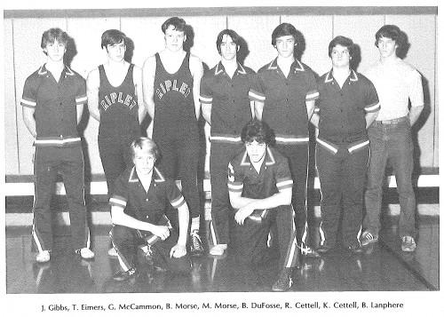 1981-1982 Ripley Eagles Wrestling