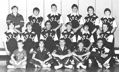 1985-1986 Ripley Eagles Wrestling