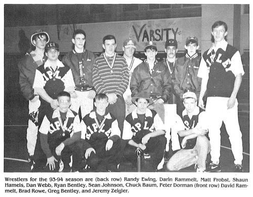1993-1994 Ripley Eagles Wrestling