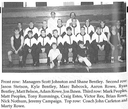 1997-1998 Ripley Eagles Wrestling
