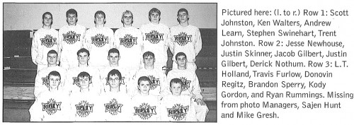 2002-2003 Ripley Eagles Wrestling