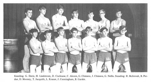 1969-1970 Ripley Eagles Wrestling