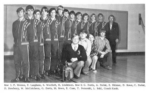 1972-1973 Ripley Eagles Wrestling