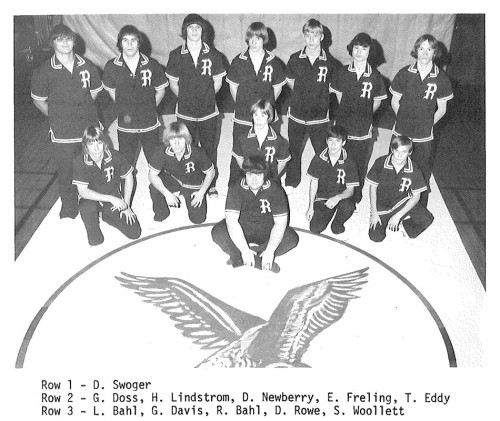 1974-1975 Ripley Eagles Wrestling