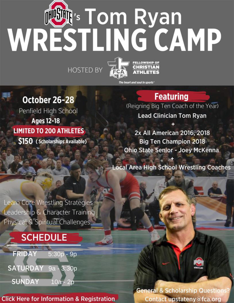 Tom Ryan Wrestling Camp @ Penfield