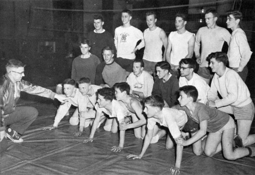 1953-1954 Perry Yellow Jackets