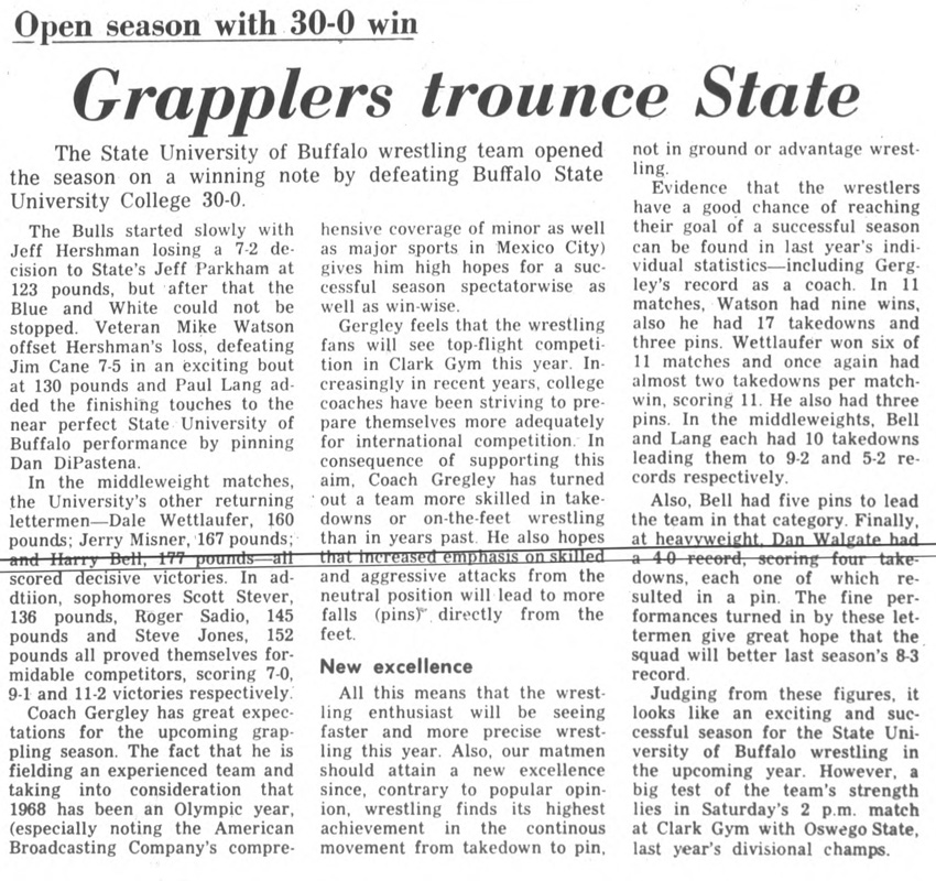 Grapplers trounce State