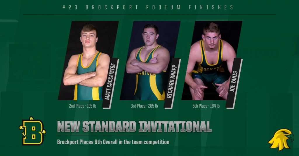 Brockport Celebrates Three Podium Finishes