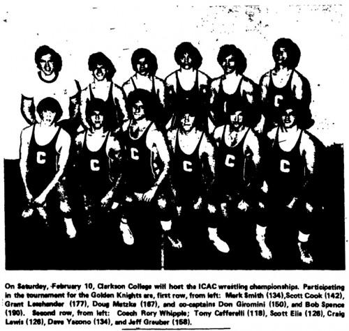 1978-1979 CCT Golden Knights