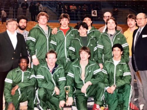 1984-1985 Brockport State Golden Eagles