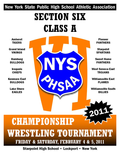 NYSPHSAA Section VI Class A Championship Wrestling Tournament