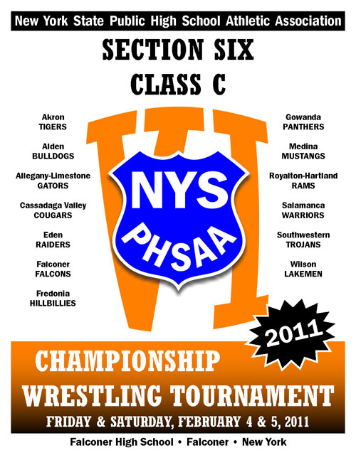 NYSPHSAA Section VI Class C Championship Wrestling Tournament